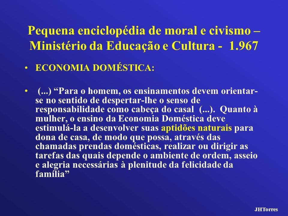 Pequena enciclopédia de moral e civismo – Ministério da Educação e Cultura - 1.967