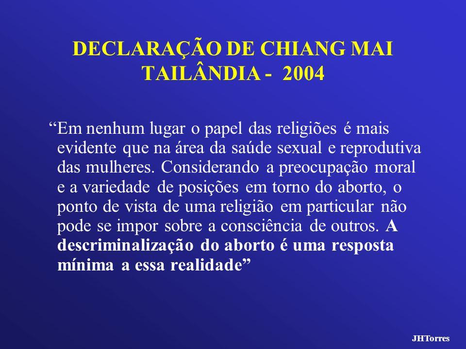 DECLARAÇÃO DE CHIANG MAI TAILÂNDIA - 2004