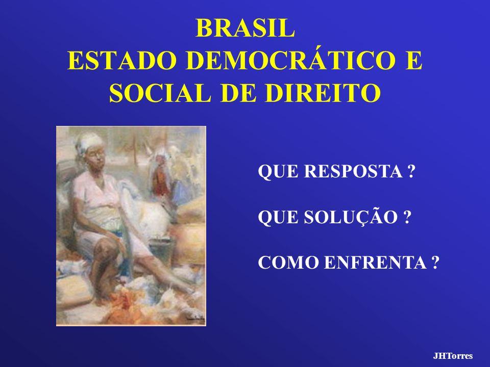 BRASIL ESTADO DEMOCRÁTICO E SOCIAL DE DIREITO