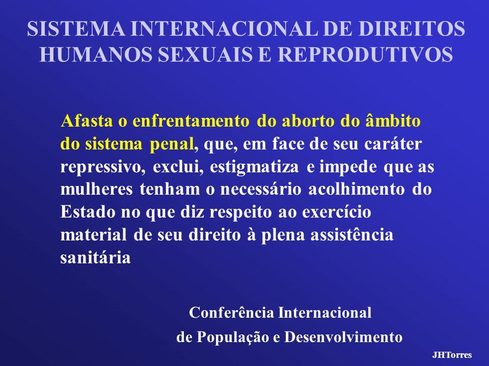 SISTEMA INTERNACIONAL DE DIREITOS HUMANOS SEXUAIS E REPRODUTIVOS
