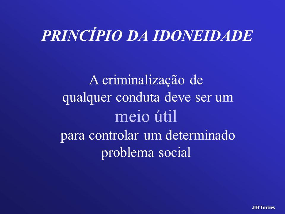 PRINCÍPIO DA IDONEIDADE