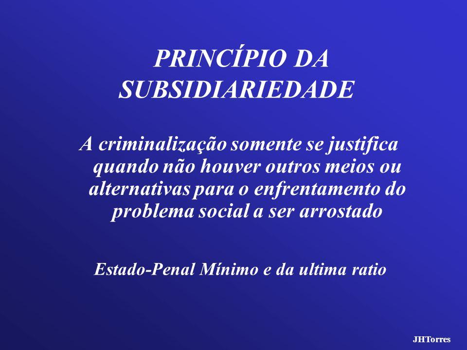 PRINCÍPIO DA SUBSIDIARIEDADE
