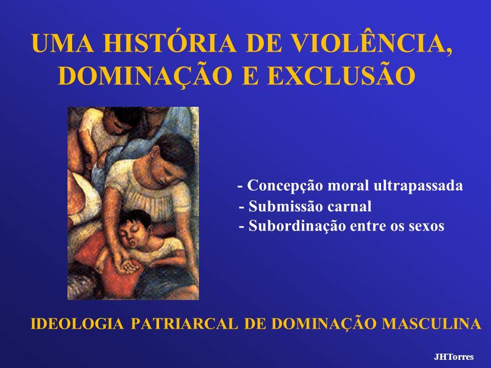 UMA HISTÓRIA DE VIOLÊNCIA, DOMINAÇÃO E EXCLUSÃO