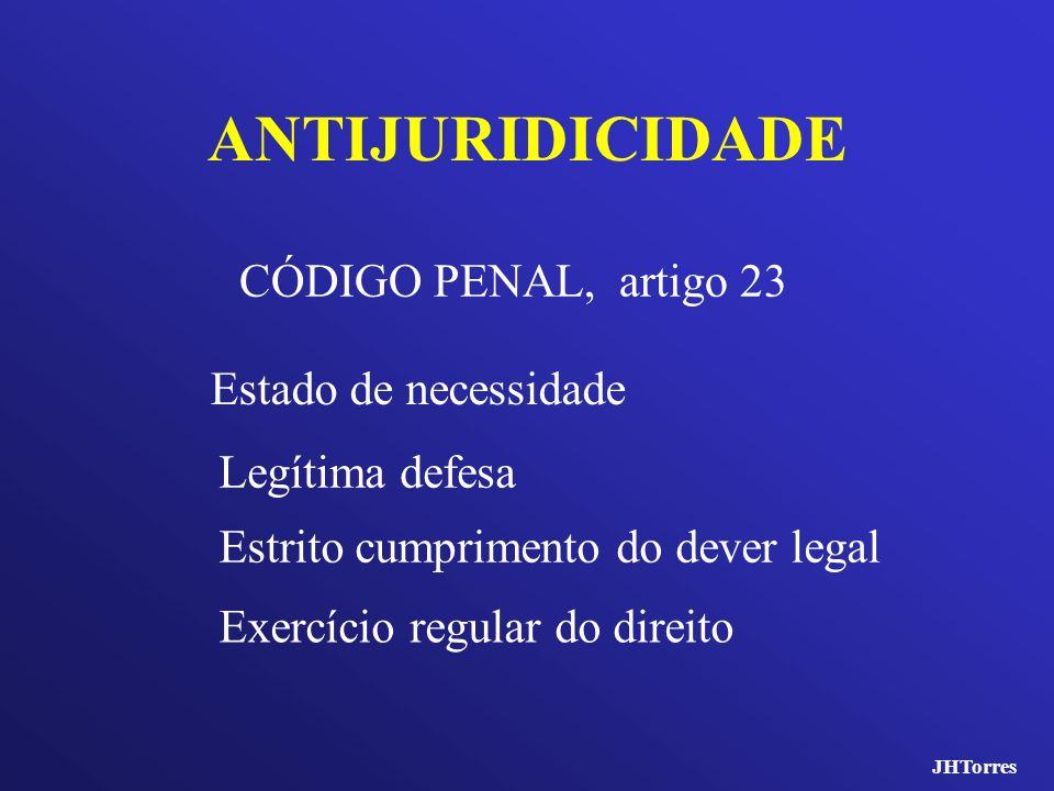 ANTIJURIDICIDADE CÓDIGO PENAL, artigo 23 Estado de necessidade