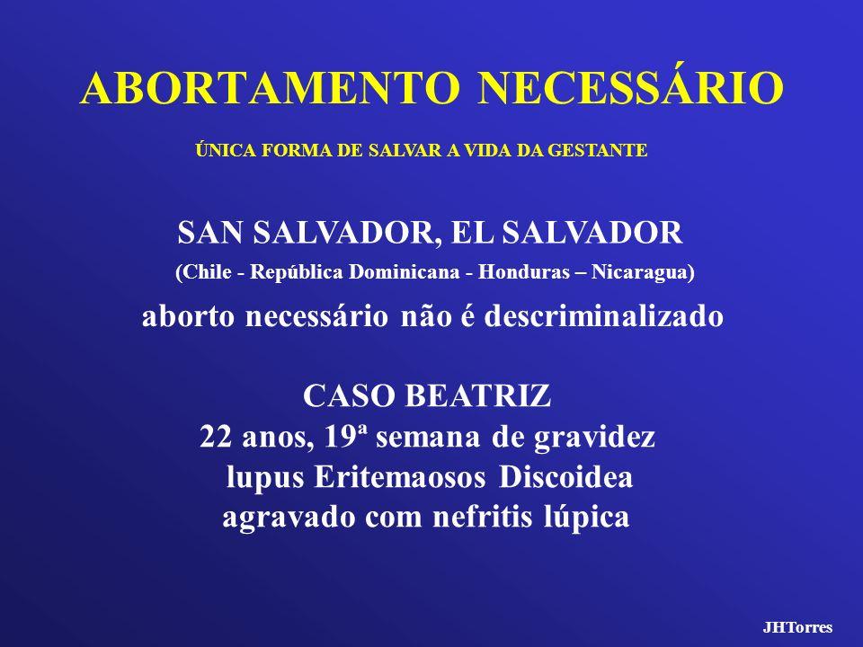 ABORTAMENTO NECESSÁRIO