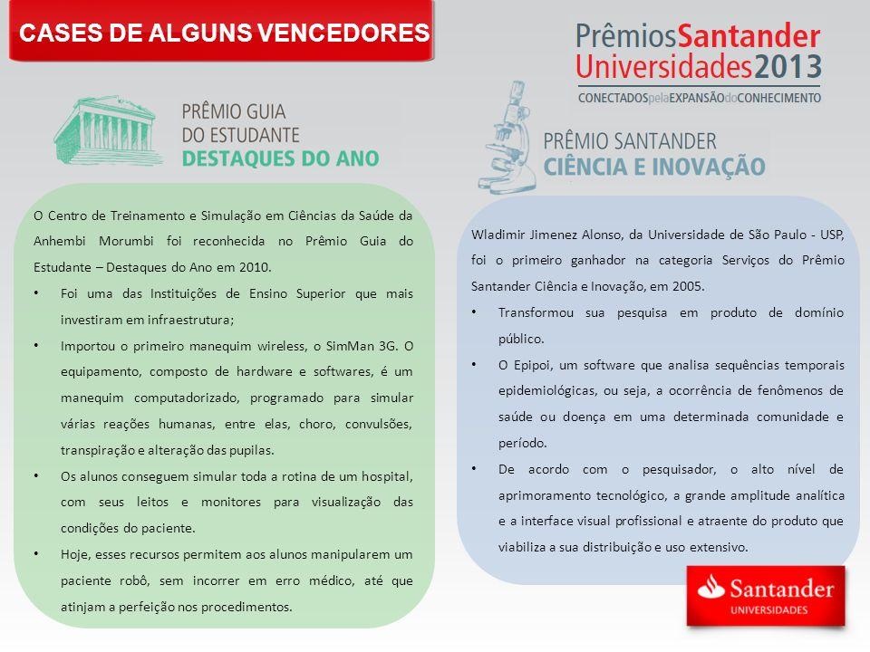 CASES DE ALGUNS VENCEDORES
