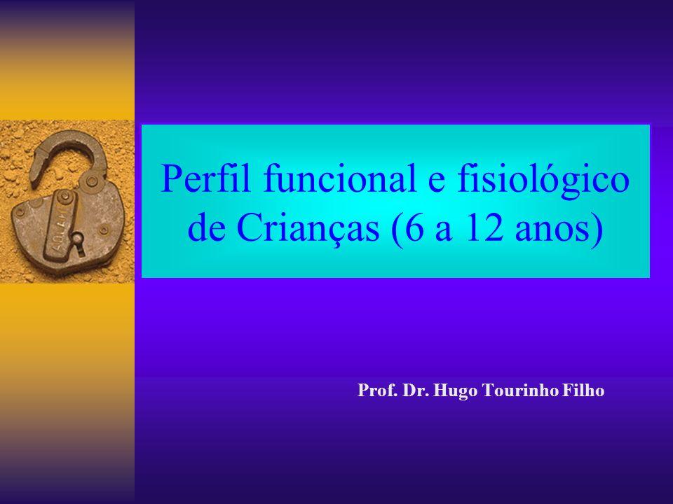 Perfil funcional e fisiológico de Crianças (6 a 12 anos)