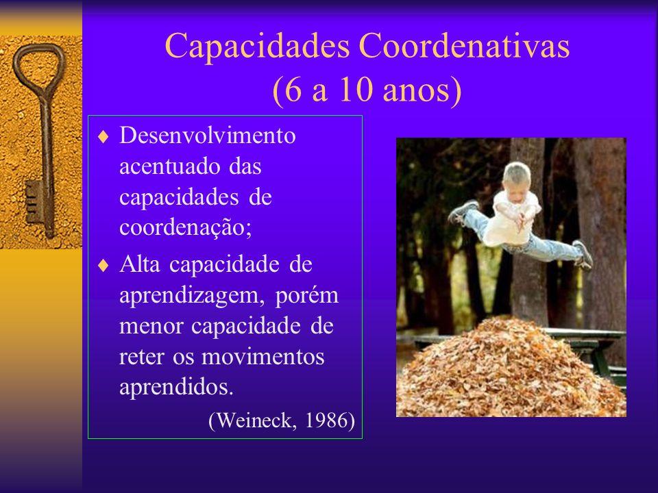 Capacidades Coordenativas (6 a 10 anos)