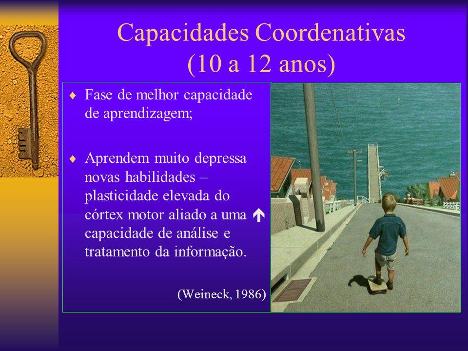 Capacidades Coordenativas (10 a 12 anos)