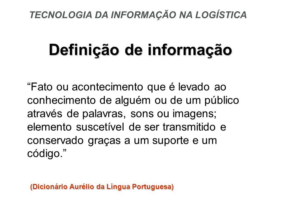 Definição de informação