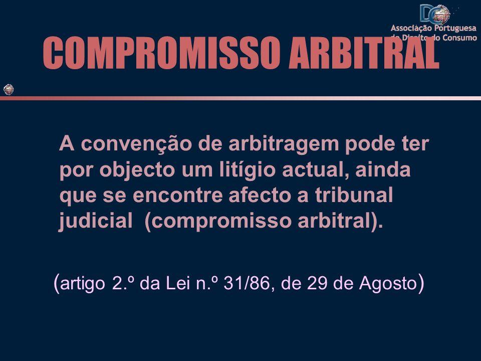 COMPROMISSO ARBITRAL