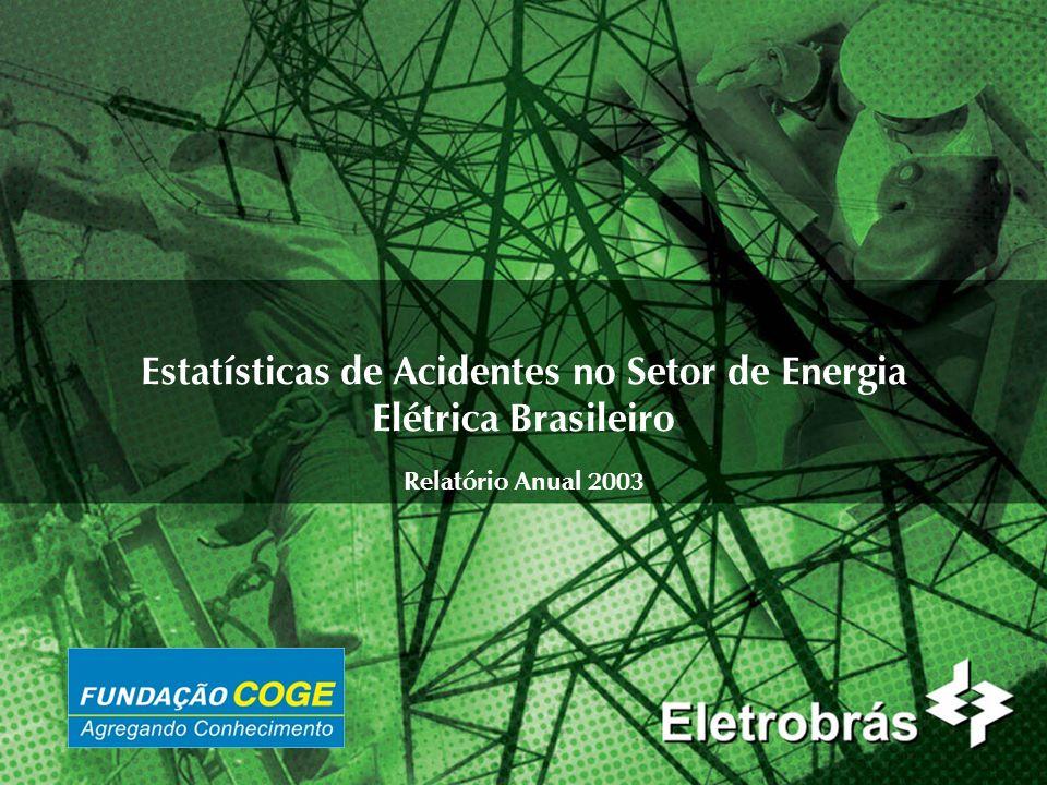 Estatísticas de Acidentes no Setor de Energia Elétrica Brasileiro