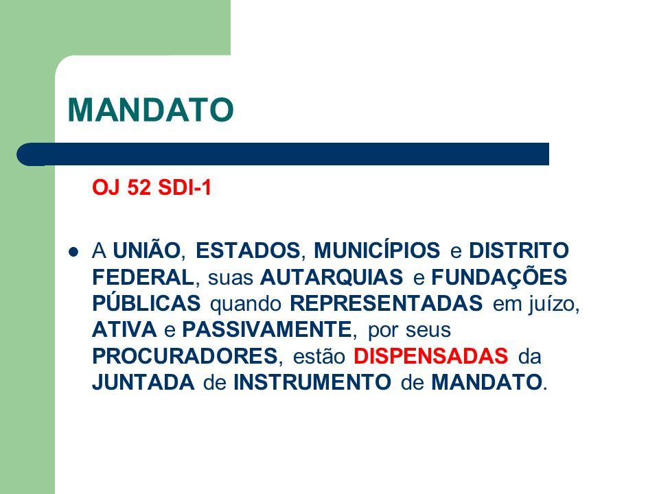 MANDATO OJ 52 SDI-1.