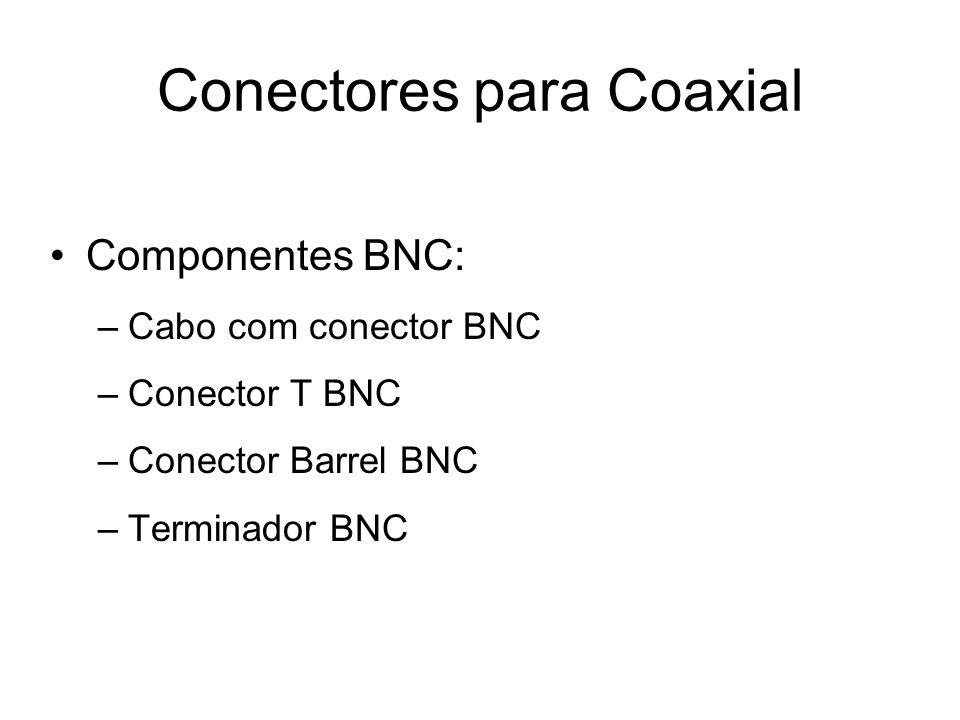 Conectores para Coaxial