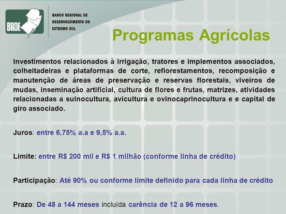Programas Agrícolas