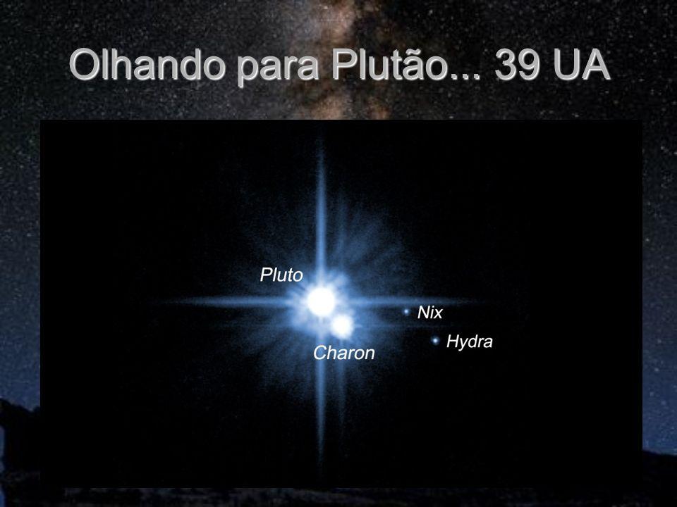 Olhando para Plutão... 39 UA