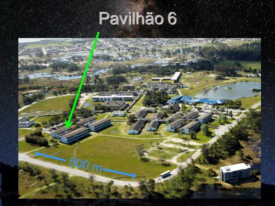 Pavilhão 6 500 m