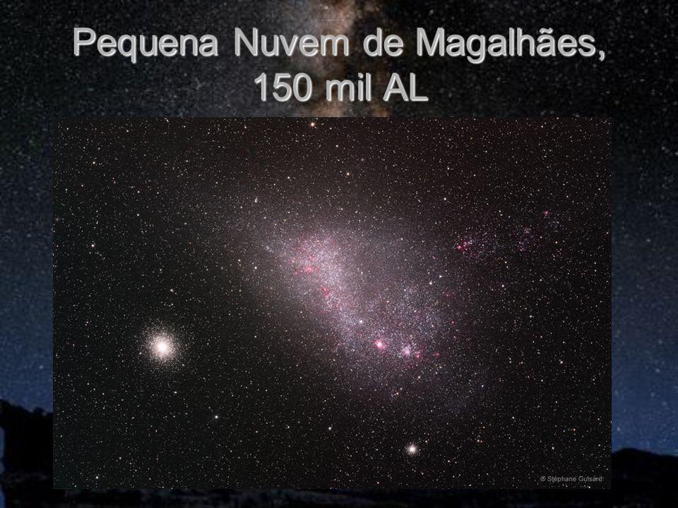 Pequena Nuvem de Magalhães, 150 mil AL