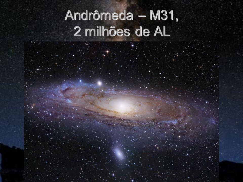 Andrômeda – M31, 2 milhões de AL