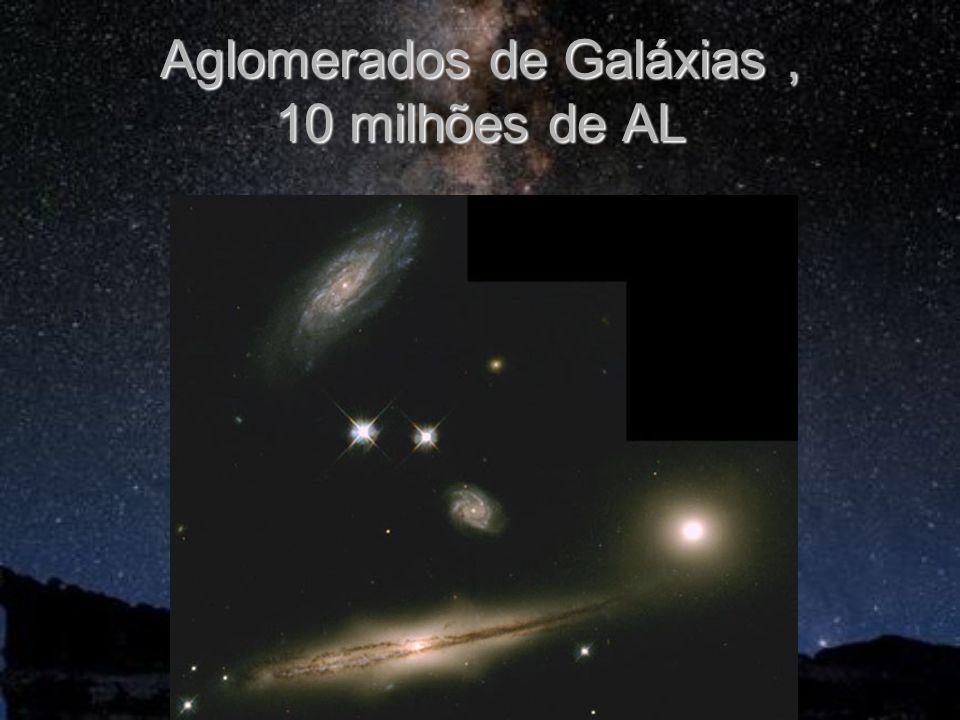 Aglomerados de Galáxias , 10 milhões de AL
