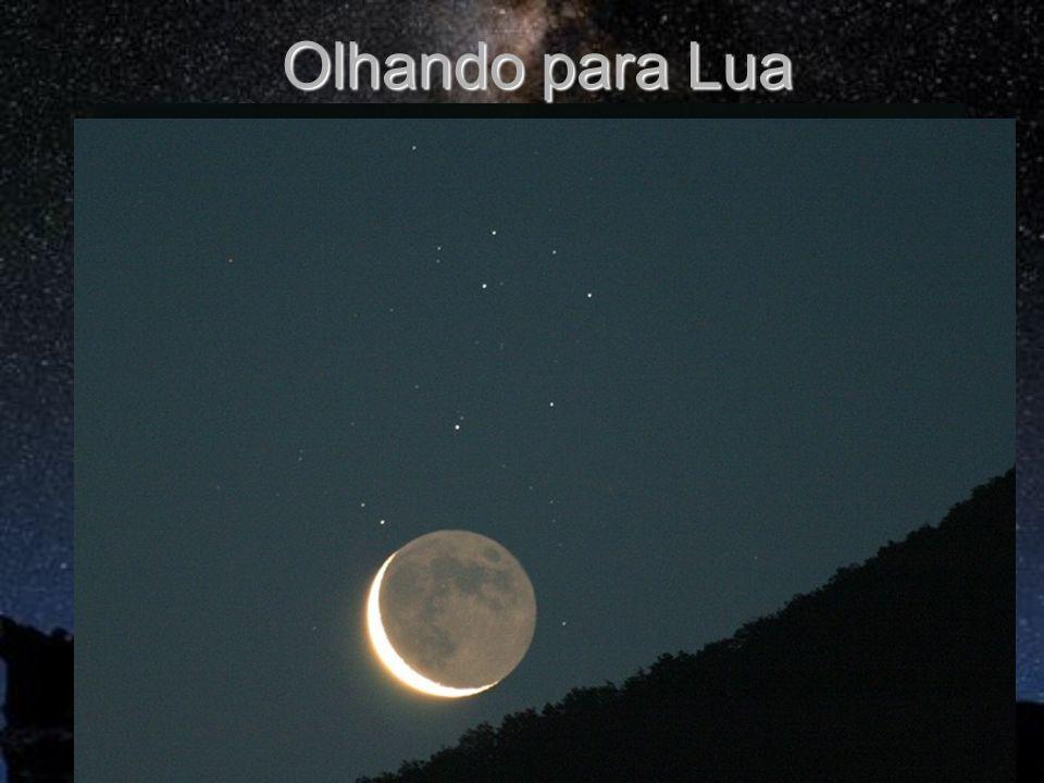 Olhando para Lua 380 mil km