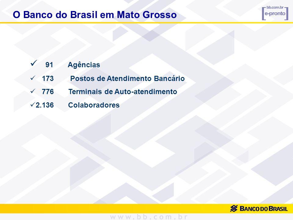 O Banco do Brasil em Mato Grosso