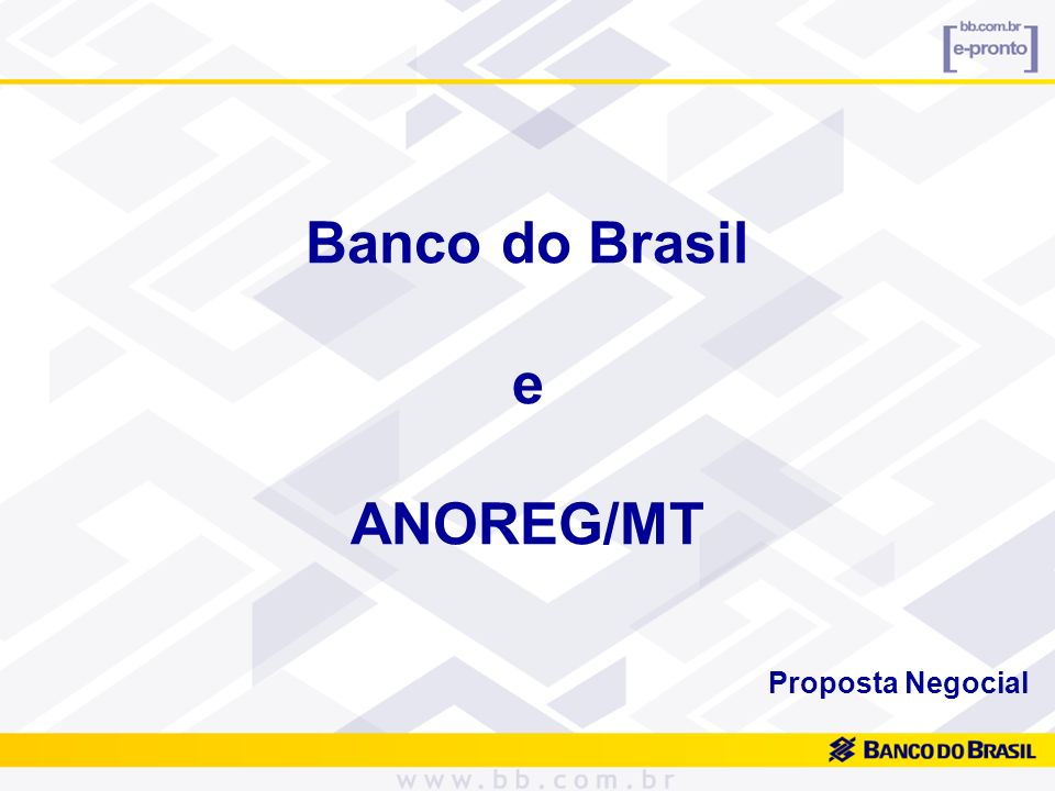 Banco do Brasil e ANOREG/MT