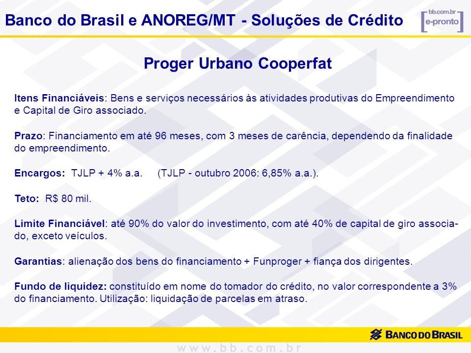 Proger Urbano Cooperfat