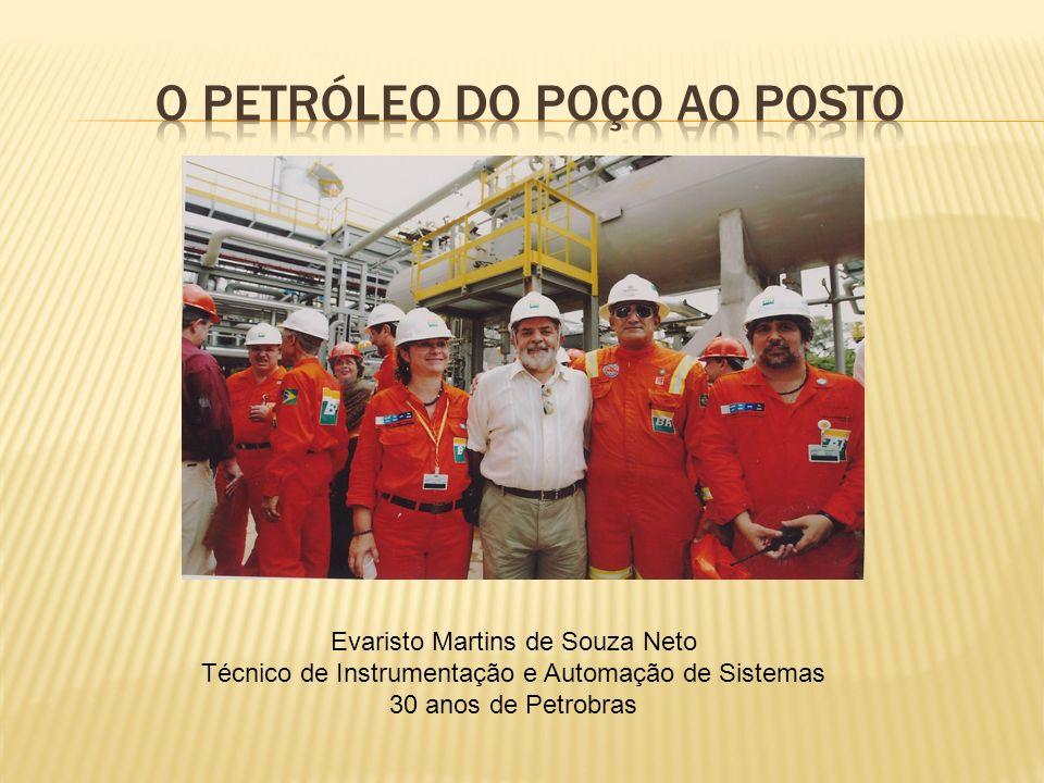 O petróleo do poço ao posto