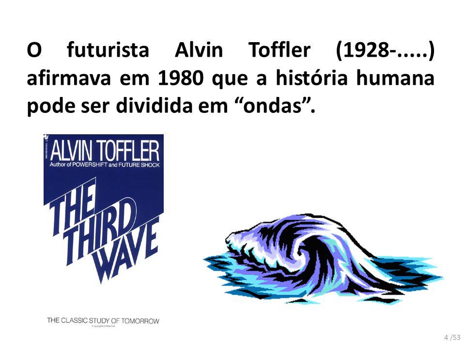 O futurista Alvin Toffler (1928-