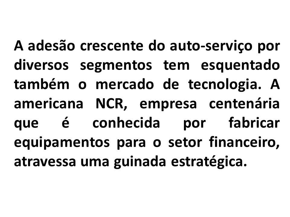 A adesão crescente do auto-serviço por diversos segmentos tem esquentado também o mercado de tecnologia.