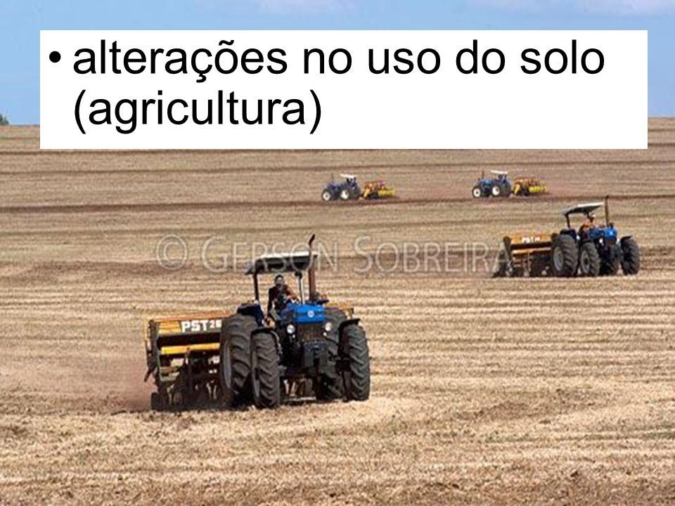 alterações no uso do solo (agricultura)