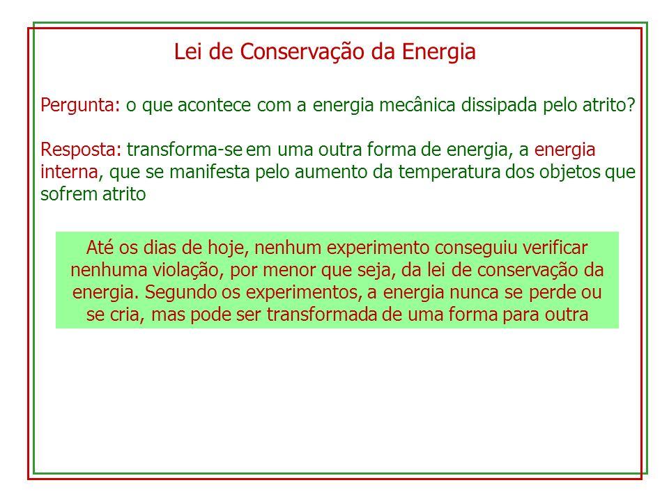 Lei de Conservação da Energia