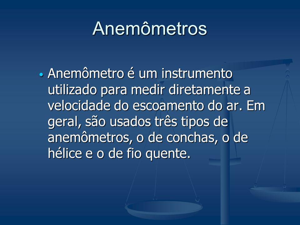 Anemômetros
