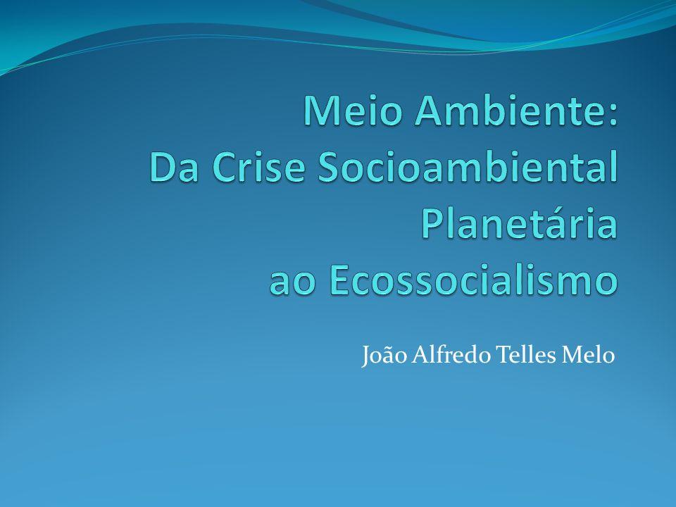 Meio Ambiente: Da Crise Socioambiental Planetária ao Ecossocialismo