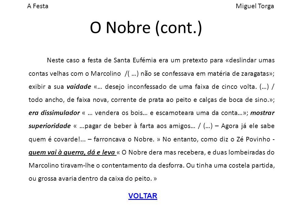 O Nobre (cont.)