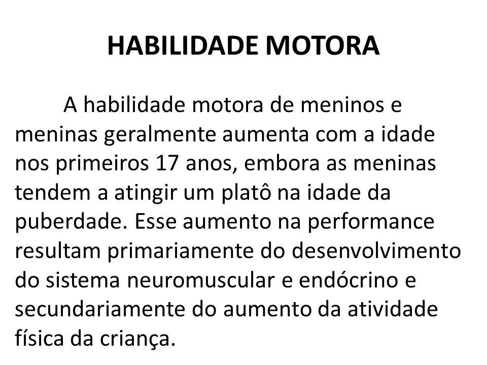 HABILIDADE MOTORA