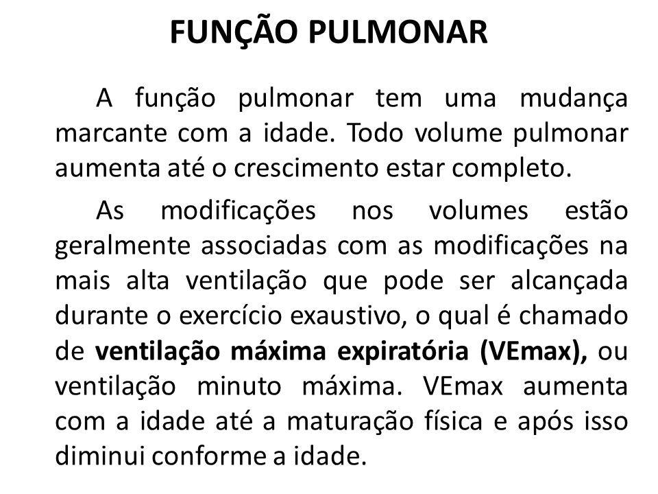 FUNÇÃO PULMONAR