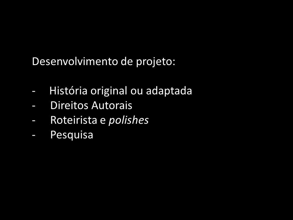 Desenvolvimento de projeto: