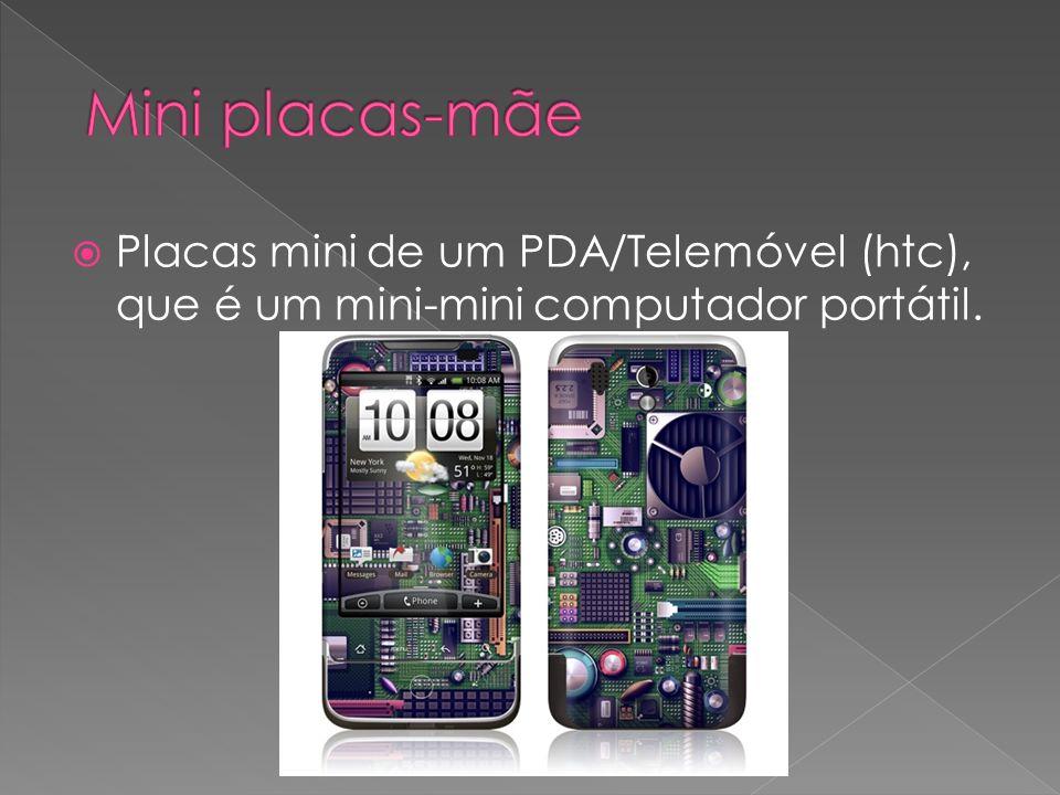 Mini placas-mãe Placas mini de um PDA/Telemóvel (htc), que é um mini-mini computador portátil.