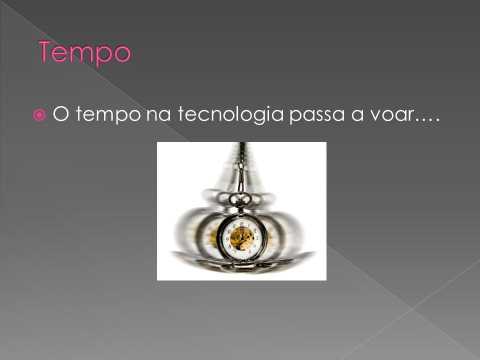 Tempo O tempo na tecnologia passa a voar….