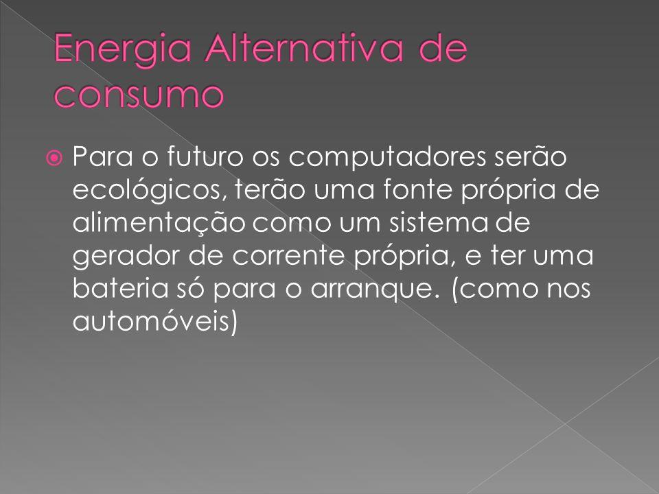 Energia Alternativa de consumo