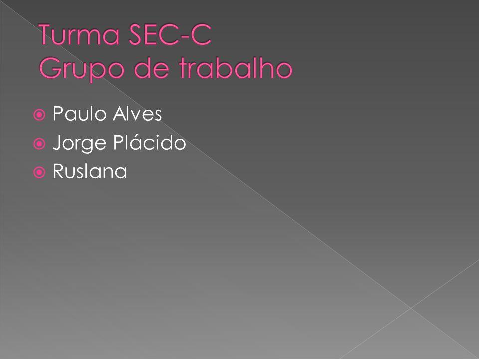 Turma SEC-C Grupo de trabalho