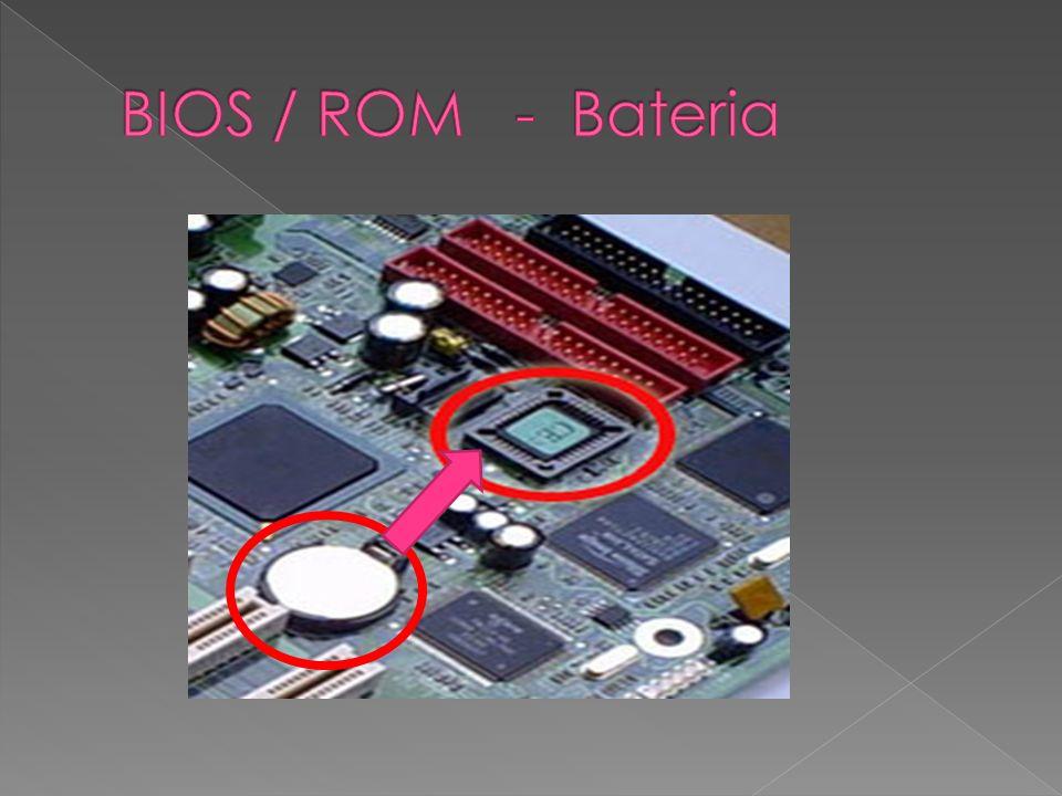 BIOS / ROM - Bateria
