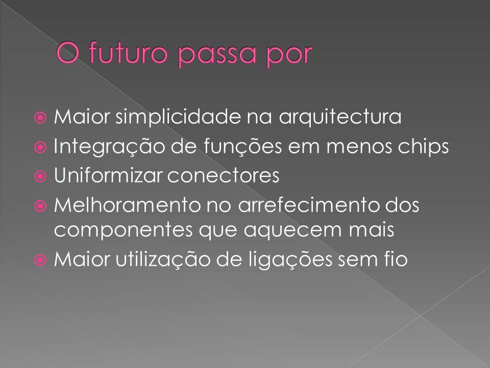 O futuro passa por Maior simplicidade na arquitectura