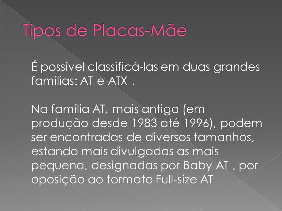 Tipos de Placas-Mãe