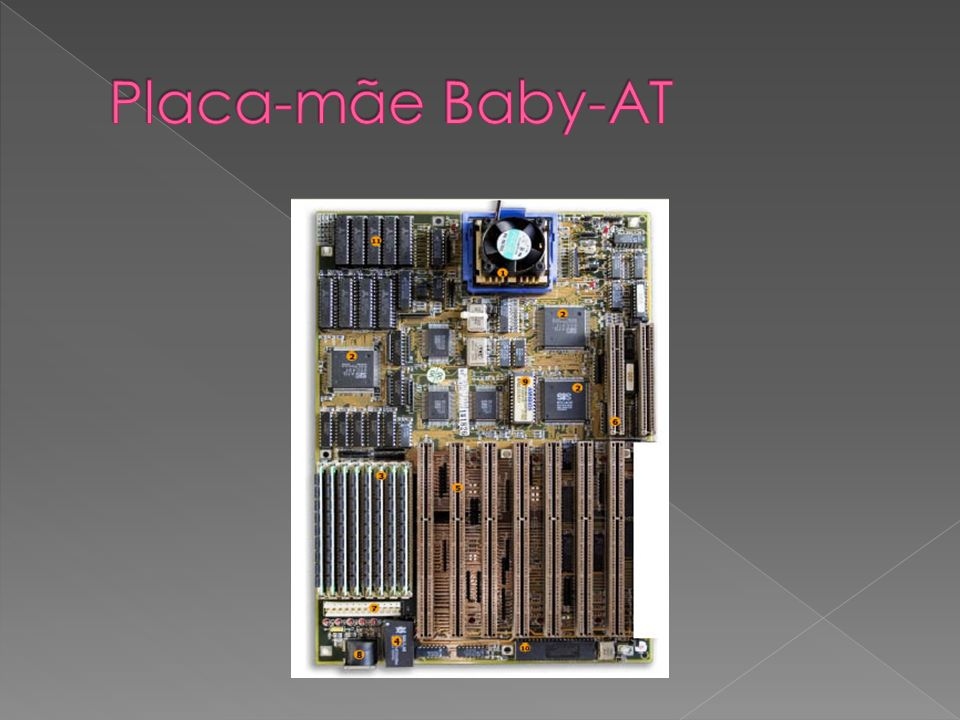 Placa-mãe Baby-AT