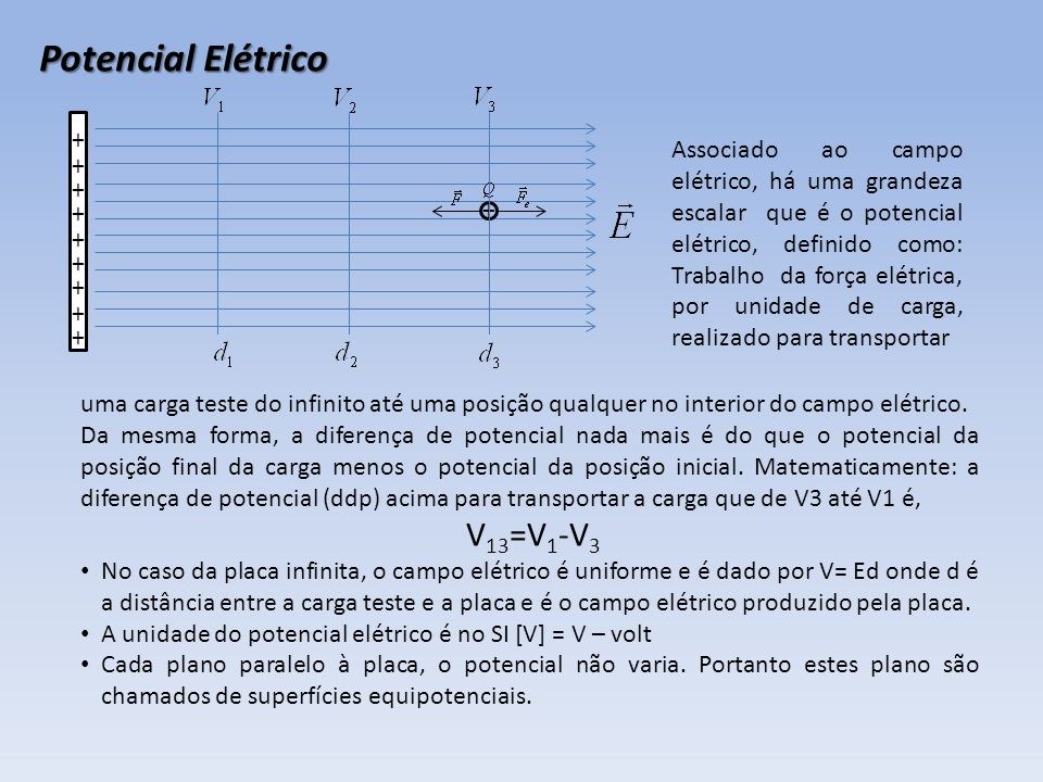 Potencial Elétrico V13=V1-V3