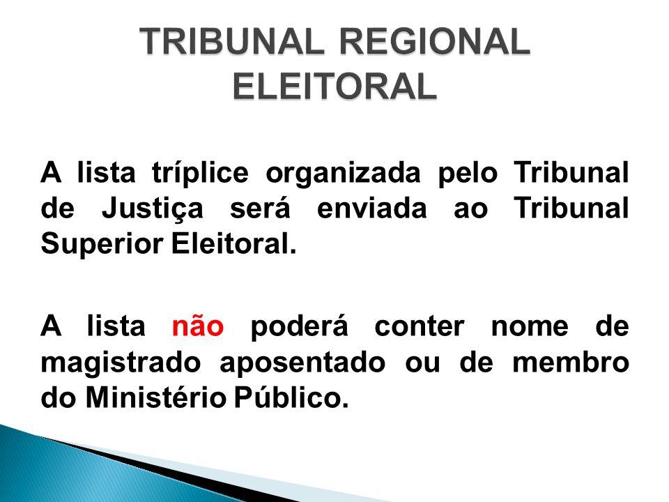 TRIBUNAL REGIONAL ELEITORAL