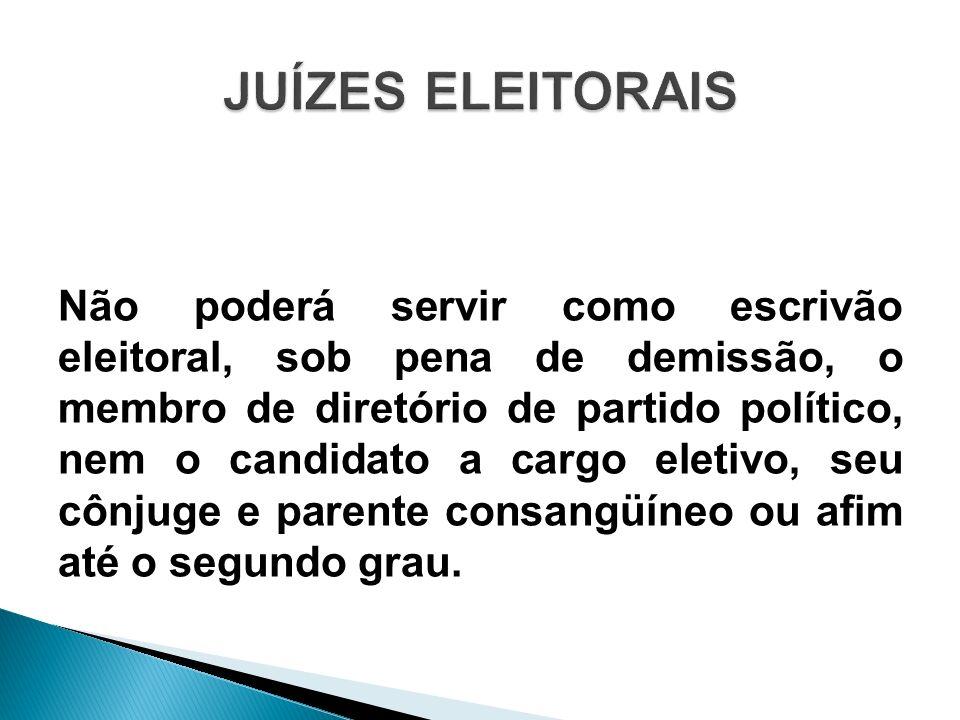 JUÍZES ELEITORAIS